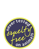 cruelty free & never tested on animals