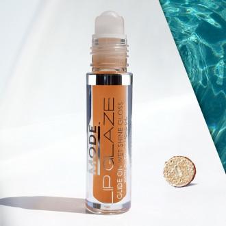 Lip Glaze Glide On Wet Shine Gloss - Iced Oatmeal Cookie