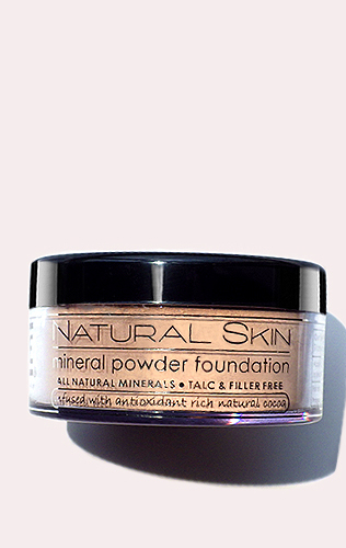 Natural Skin Mineral Powder Foundation